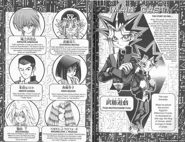 Le manga yugioh