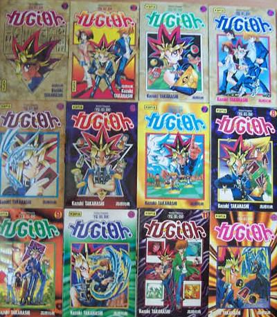 Les mangas YuGiOh