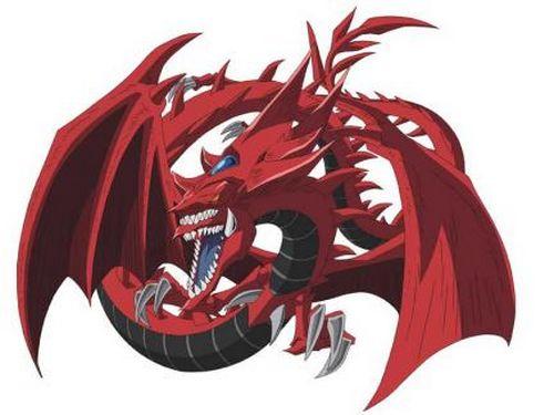 Le dragon Slifer dans l'animé